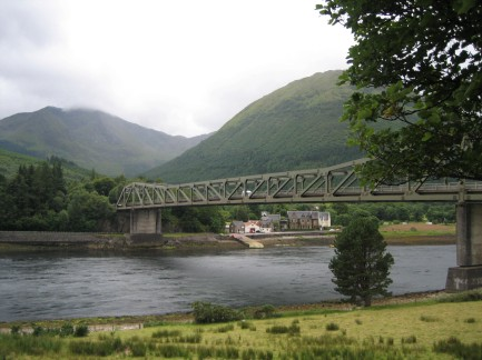bridge at loch leven