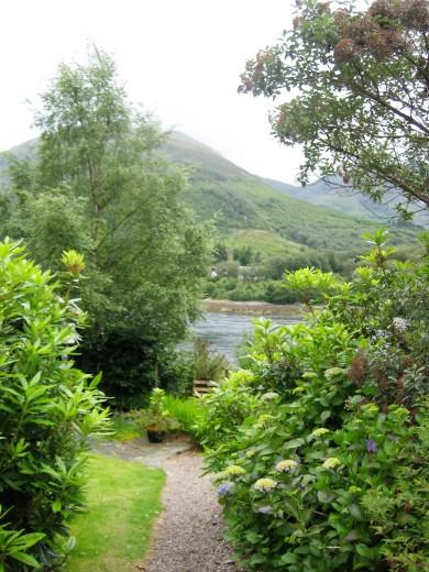 gardens at loch leven